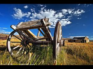 Abandoned Wagon, Bodie State Historic Park, Bridgeport, CA