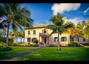 Hulihee Palace in the Heart of Old Kailua, Hawaii